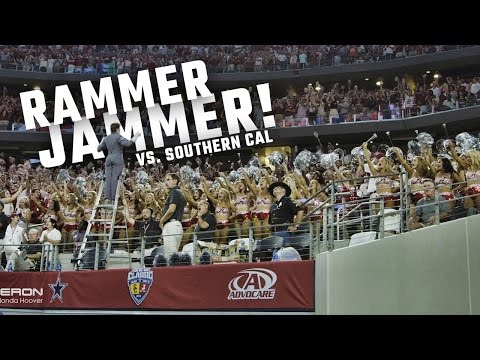 Watch Alabama fans take over AT&T Stadium with 'Rammer Jammer'