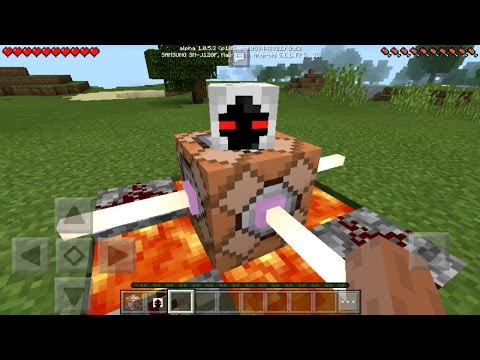 How To Spawn ENTITY 303 With Command Blocks in MCPE