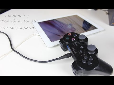 Using a ps3 controller as a mfi controller for ios 7   TechsIQ  