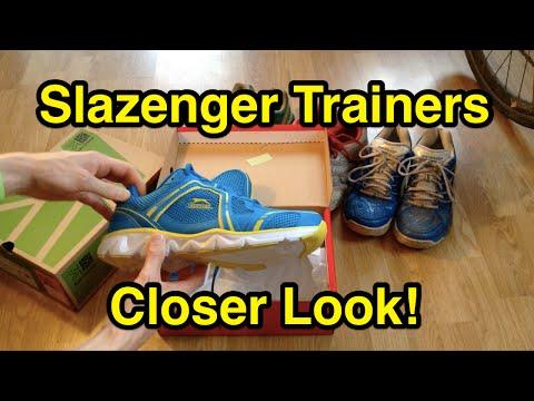 Slazenger Venture Trainers Closer Look