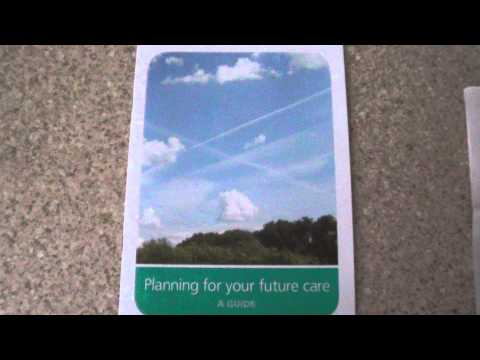 National Health Service (NHS): subliminal admission chemtrails and dementia are connected