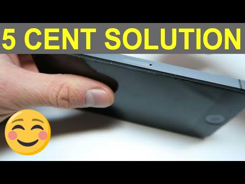 iPhone 5 / 5S / SE / 6 / 6S  Remove & insert SIM CARD with simple 5 cent tool