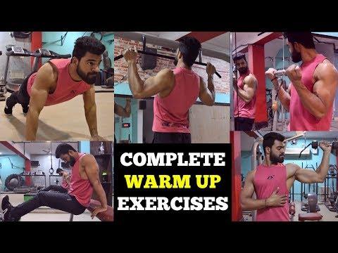 Full Body Warm Up Exercises | Warm Up Exercises Before Workout