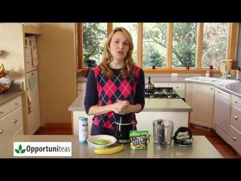 Organic Liver Detox Tea Smoothie Recipe