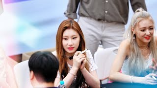 Download 있지(ITZY) 채령(CHAERYEONG) 팬싸인회 Fansign 4k Real Fan Cam 190825@코엑스 Video