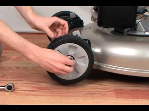 Replacing the Wheel - Honda Lawn Mower