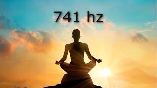 741 hz Removes Toxins and Negativity, Cleanse Aura, Spiritual Awakening, Tibetan Bowls