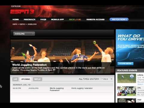 How to Watch WJF 7 on ESPN3