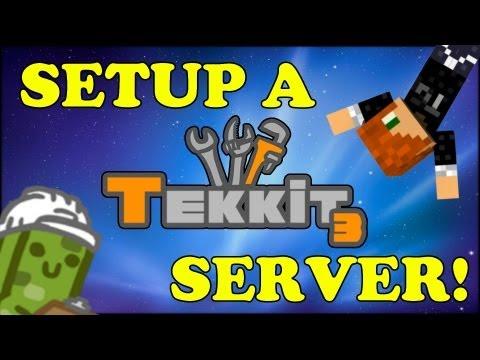 TUTORIAL - HOW TO MAKE A MINECRAFT TEKKIT SERVER!! MADE EASY!!