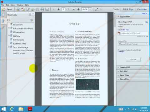 How to clear the history in Acrobat Reader