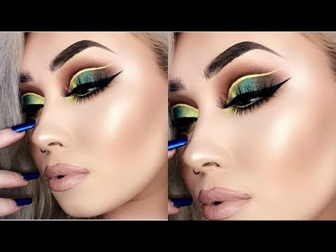 ACID VIBES | Vibrant Summer Makeup Tutorial