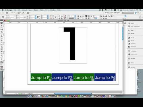 Making An Interactive PDF in InDesign CS5