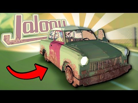 CAN WE PUSH THIS CAR THROUGH AN ENTIRE COUNTRY? - Jalopy Full Release - Jalopy Gameplay