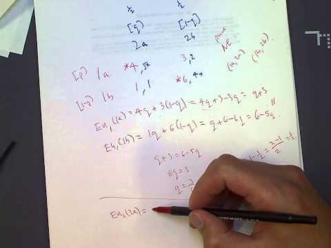 Mixed strategy Nash equilibrium explanation