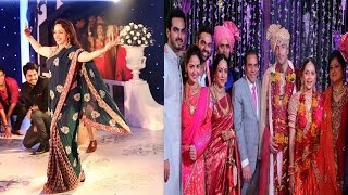 बेटी आहना की शादी में कुछ इस तरह नाची मां हेमा | Hema Shocking Dance In Her Daughter's Marriage