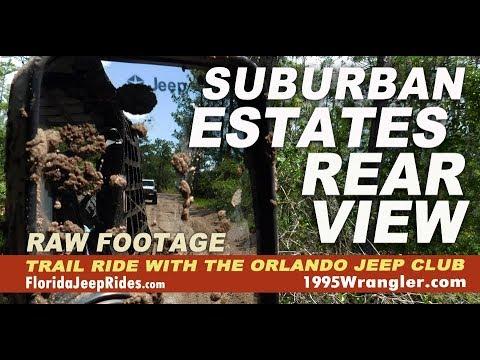 Suburban Estates June 2018 Rear Jeep Camera 1 hour of Raw footage
