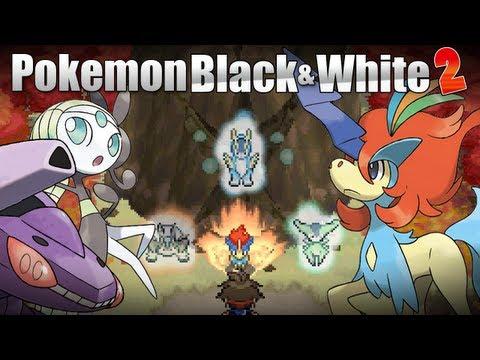 Pokémon Black & White 2 - [Meloetta Keldeo Genesect Events]
