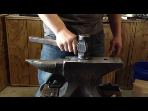 Horn Right or Horn Left? Proper anvil position for a blacksmith
