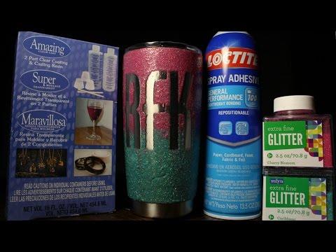 DIY - HOW TO MAKE REAL GLITTER YETI