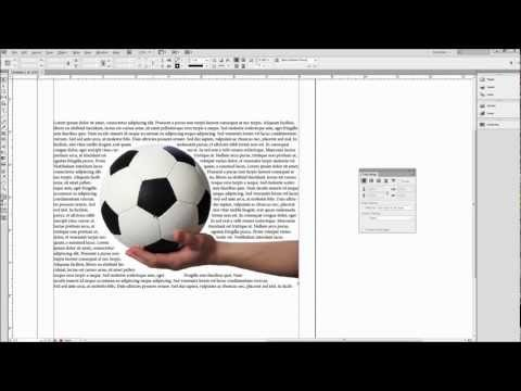 InDesign Tutorial: Wrap Text Around Images, Shapes, and Objects -HD-