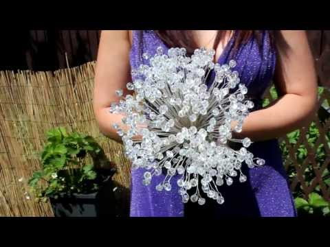 Crystal Bouquet From Mrs Bouquets Crystal Weddings