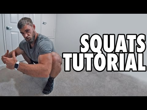 How to Perform the Bodyweight Squat - Exercise Tutorial