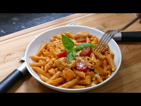 Spicy chicken one Pot pasta