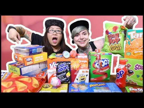 Tasting Nostalgic Childhood Snacks!