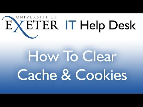 How to: Clear Cache and Cookies