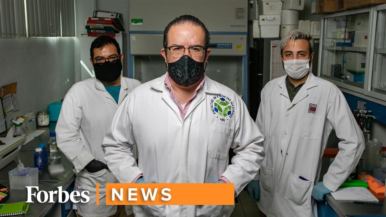Estos mexicanos crean una vacuna contra el covid-19.