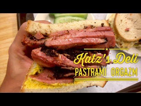 Katz's Delicatessen New York: Best Pastrami and Reuben Sandwich in the World!