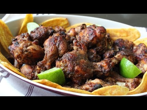 Jerk Chicken Wings - Spicy Jamaican Jerk Hot Wings Recipe