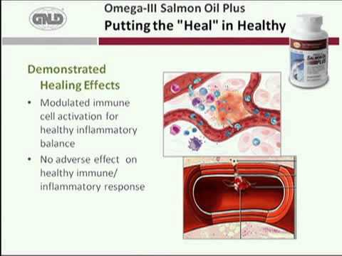 GNLD International Omega-3 Salmon Oil Plus - The Power Of Healing