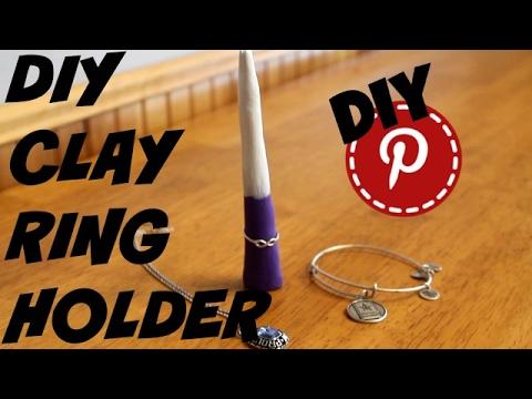 DIY Clay Ring Holder - DIY Pinterest
