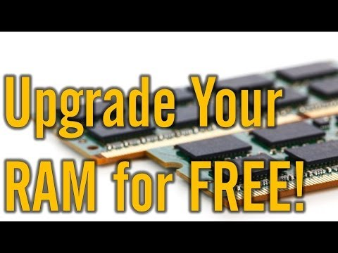How To Upgrade Your RAM for FREE | Windows 8/7/XP