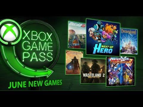 Xbox Game Pass - Entram 6 saem 21 Jogos em Junho...