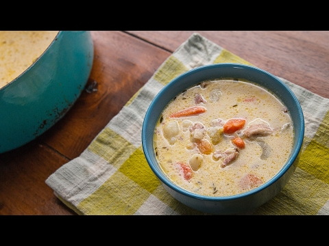 One-Pot Ham & Potato Soup