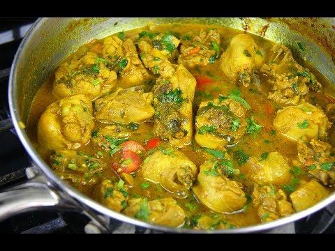 Coconut Curry Chicken #TastyTuesdays   CaribbeanPot.com