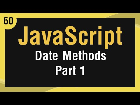 [ Learn JavaScript In Arabic ] #60 - Date - Date Functions Part 1