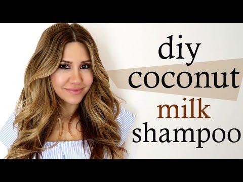 Coconut Milk Shampoo - DIY
