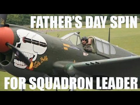 CRHnews -   Curtiss Kittyhawk 'Lula Belle' goes for Father's Day spin