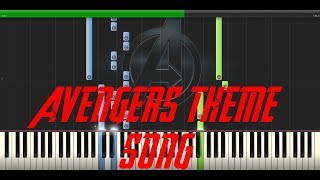 The Avengers Theme - Piano Edition