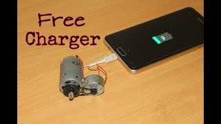 How to make Free Energy MobilePhone Charger - Free Lifetime charger