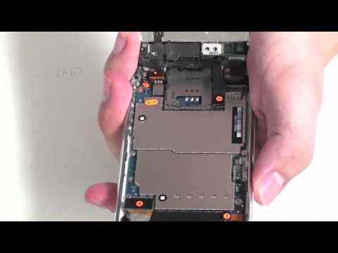 iPhone 3GS Screen Assembly Removal