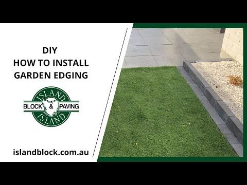 DIY How to install Edgestone Garden edging