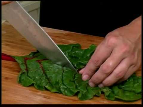 Cooking Tips : How to Prepare Red Swiss Chard