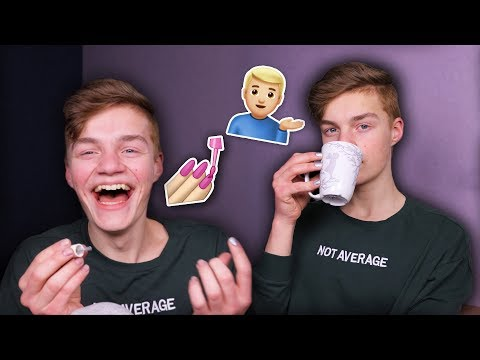 spilling tea & painting my nails (ft. TheBakeey)