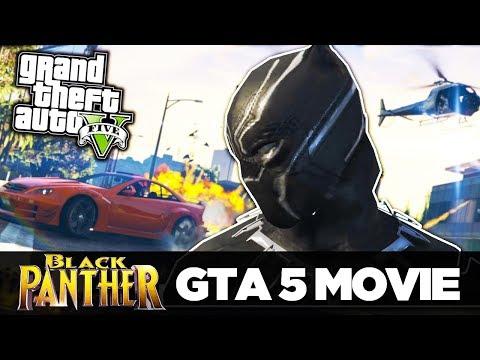 GTA 5 - Black Panther MOVIE  - (GTA 5 Machinima) GTA 5 Short Film (Movie)::