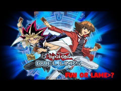 Yugioh Duel Links - Review - Fun or Not? (PC, Mobile, Steam)