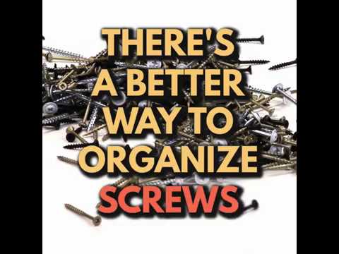 Organized and Portable Screw Storage - Quick Tips from Tiff #2